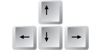 Навигация с помощью клавиатуры